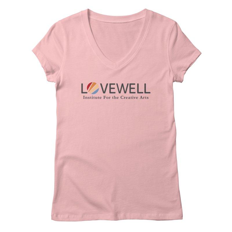 Lovewell Logo 2018 Women's Regular V-Neck by Lovewell's Artist Shop
