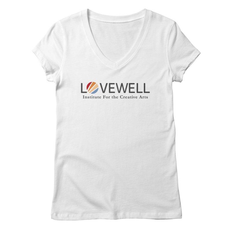 Lovewell Logo 2018 Women's Regular V-Neck by Love Well's Artist Shop