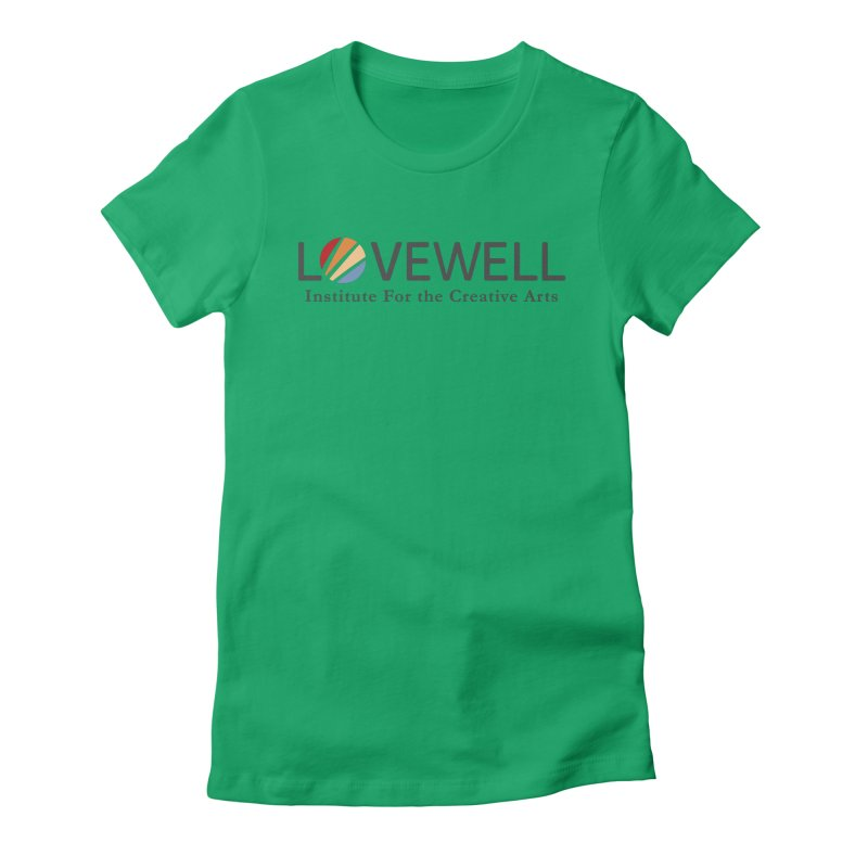 Lovewell Logo 2018 Women's T-Shirt by Love Well's Artist Shop