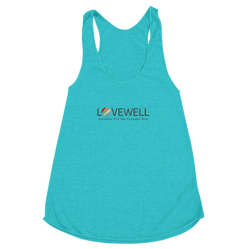 Lovewell Logo 2018 Women's Racerback Triblend Tank by Lovewell's Artist Shop
