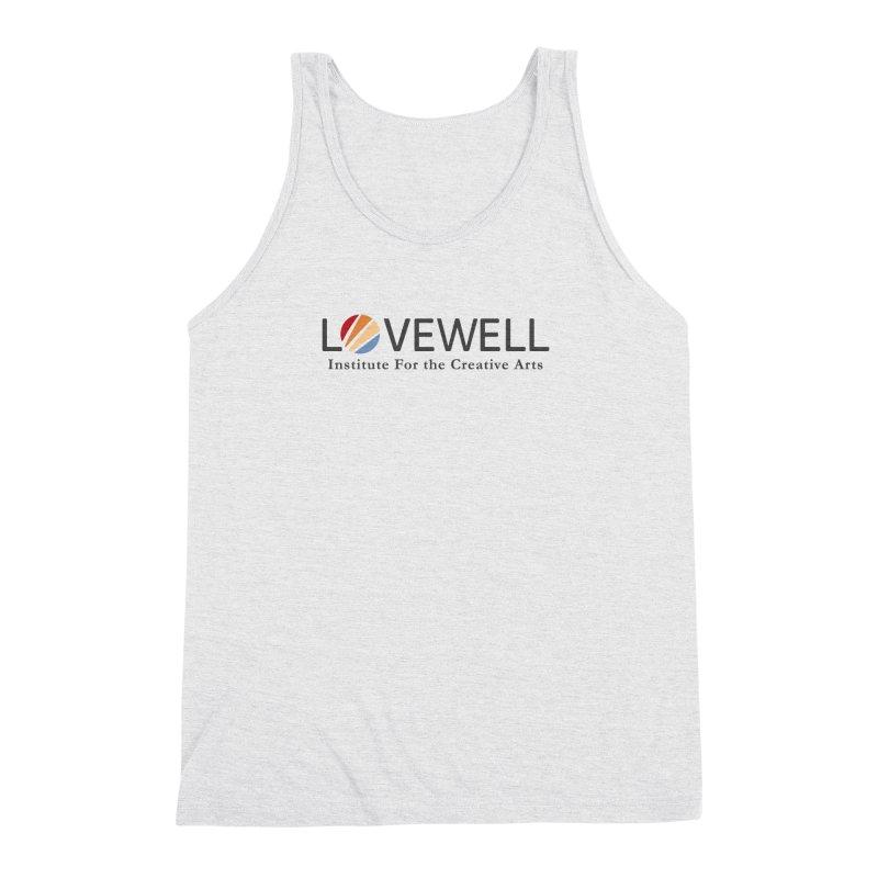 Lovewell Logo 2018 Men's Triblend Tank by Lovewell's Artist Shop
