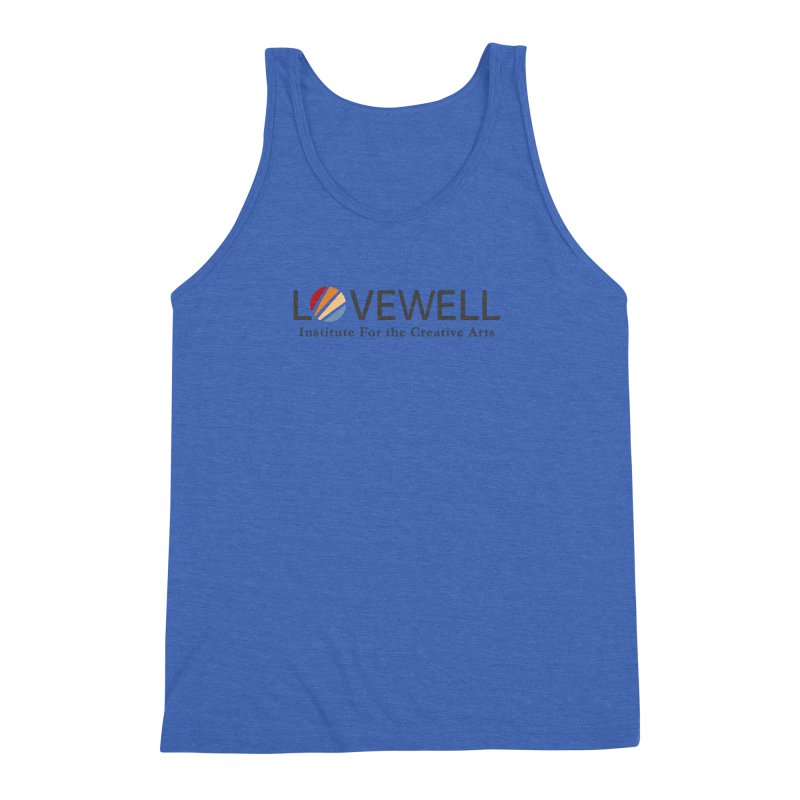 Lovewell Logo 2018 Men's Triblend Tank by Lovewell's Artist Shop