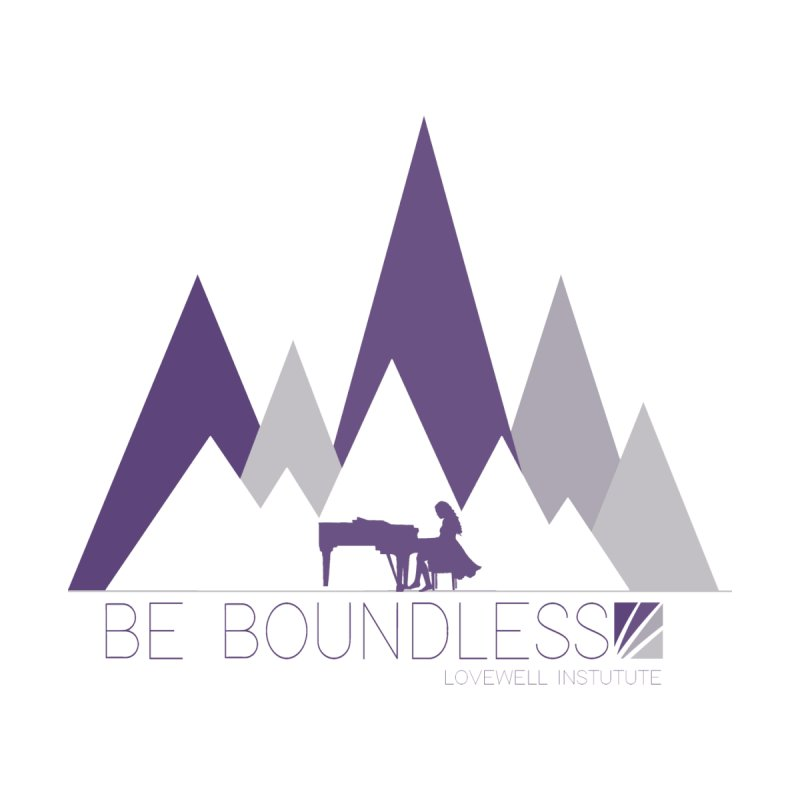 Be Boundless (by Tobi Waldron) Men's T-Shirt by Love Well's Artist Shop
