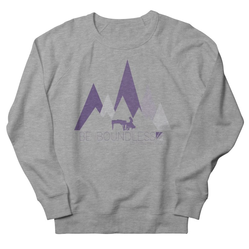 Be Boundless (by Tobi Waldron) Men's French Terry Sweatshirt by Love Well's Artist Shop