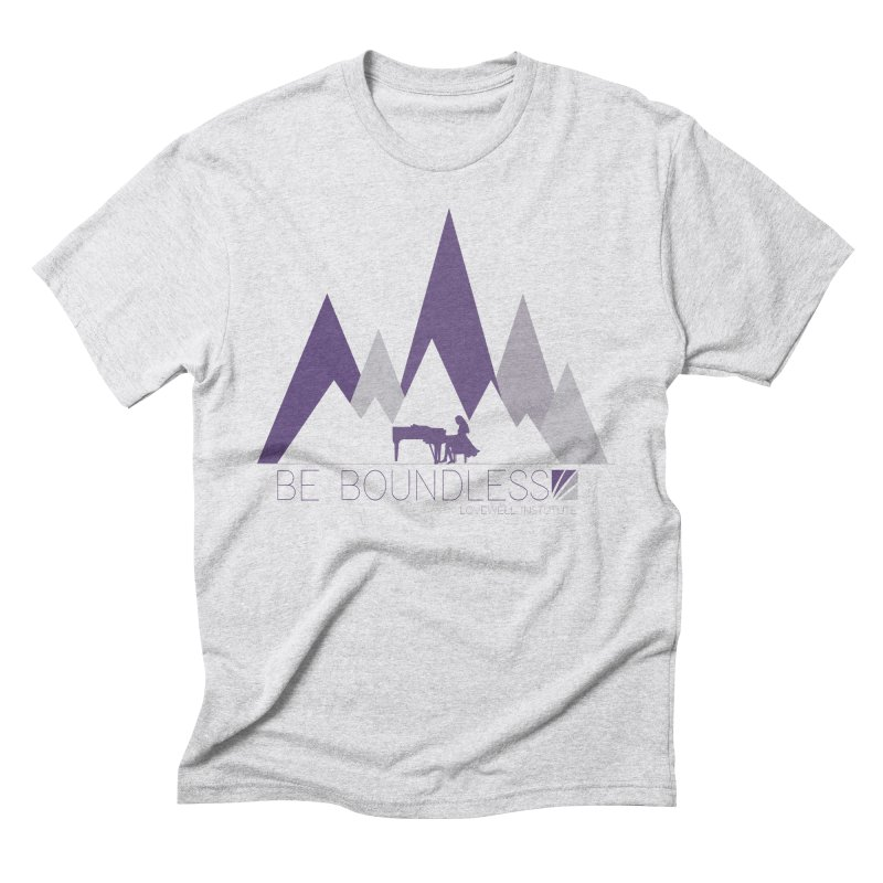 Be Boundless (by Tobi Waldron) Men's Triblend T-Shirt by Love Well's Artist Shop