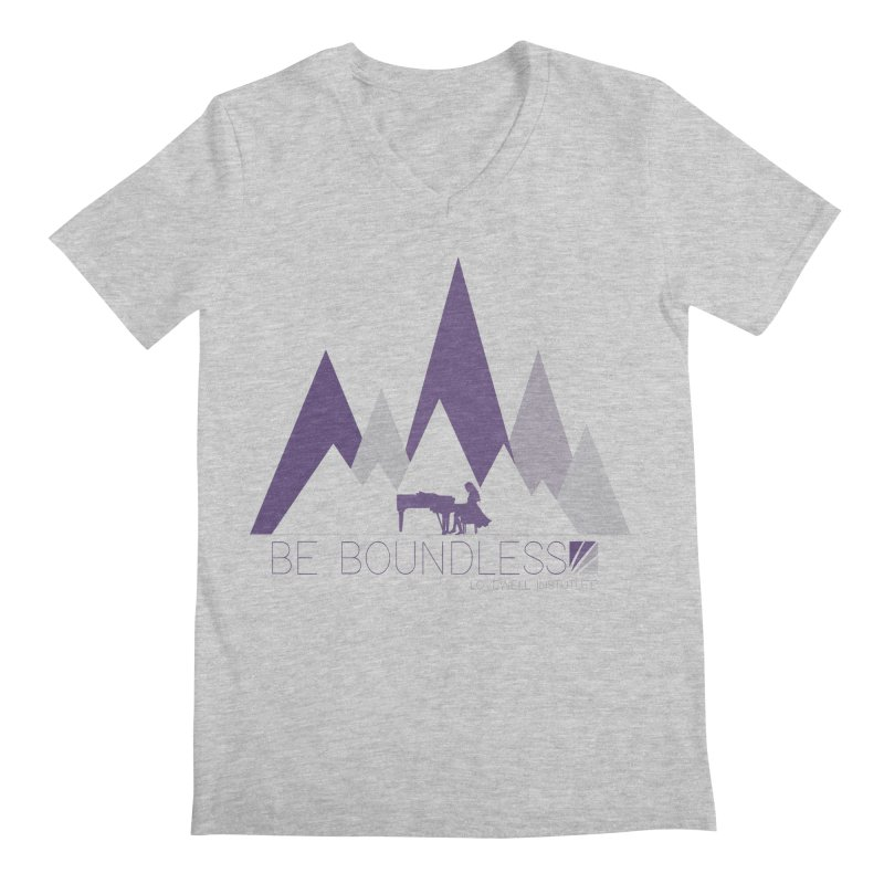 Be Boundless (by Tobi Waldron) Men's V-Neck by Lovewell's Artist Shop