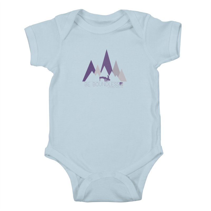 Be Boundless (by Tobi Waldron) Kids Baby Bodysuit by Love Well's Artist Shop