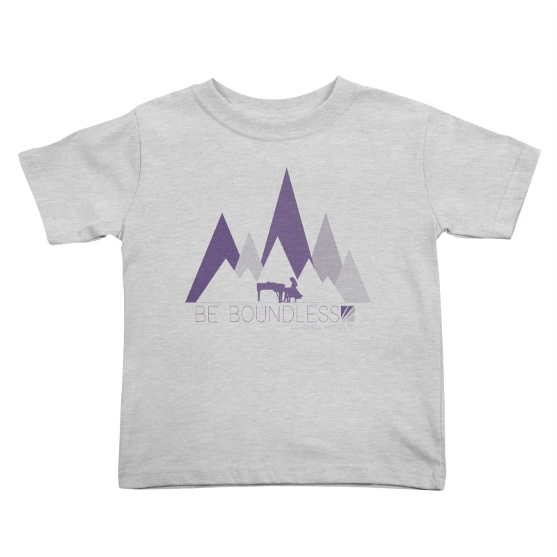 Be Boundless (by Tobi Waldron) Kids Toddler T-Shirt by Love Well's Artist Shop