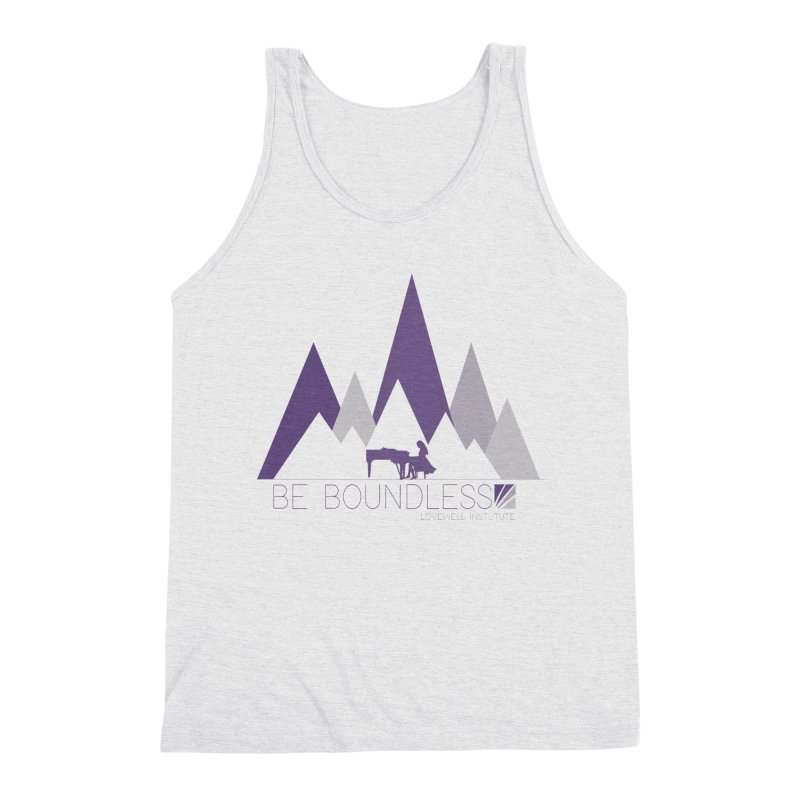 Be Boundless (by Tobi Waldron) Men's Tank by Love Well's Artist Shop