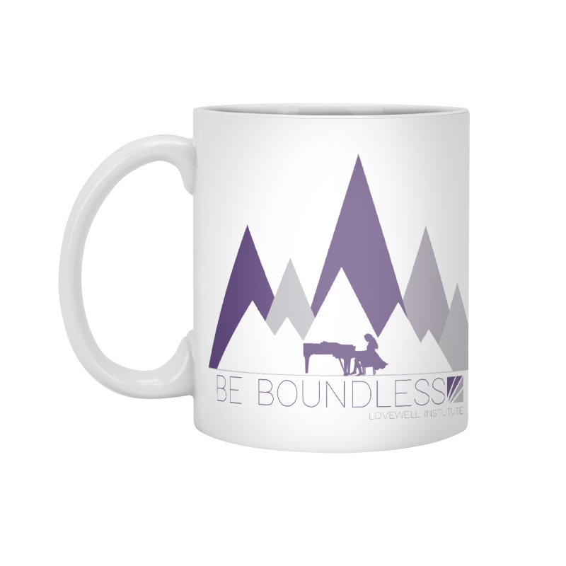 Be Boundless (by Tobi Waldron) Accessories Mug by Lovewell's Artist Shop