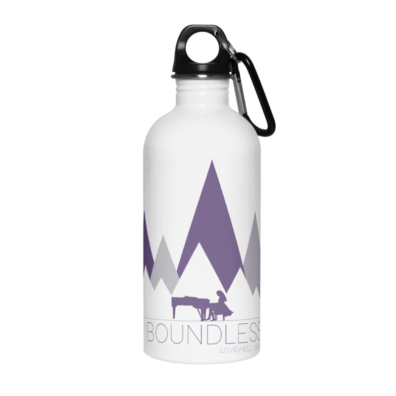 Be Boundless (by Tobi Waldron) Accessories Water Bottle by Love Well's Artist Shop