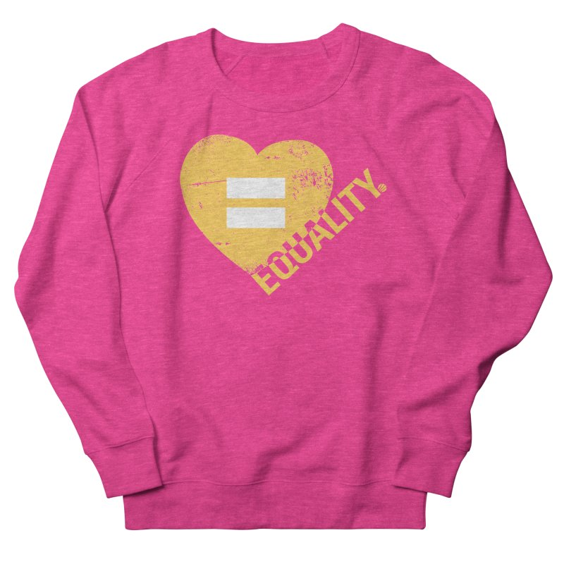 Equality Men's French Terry Sweatshirt by Love Well's Artist Shop