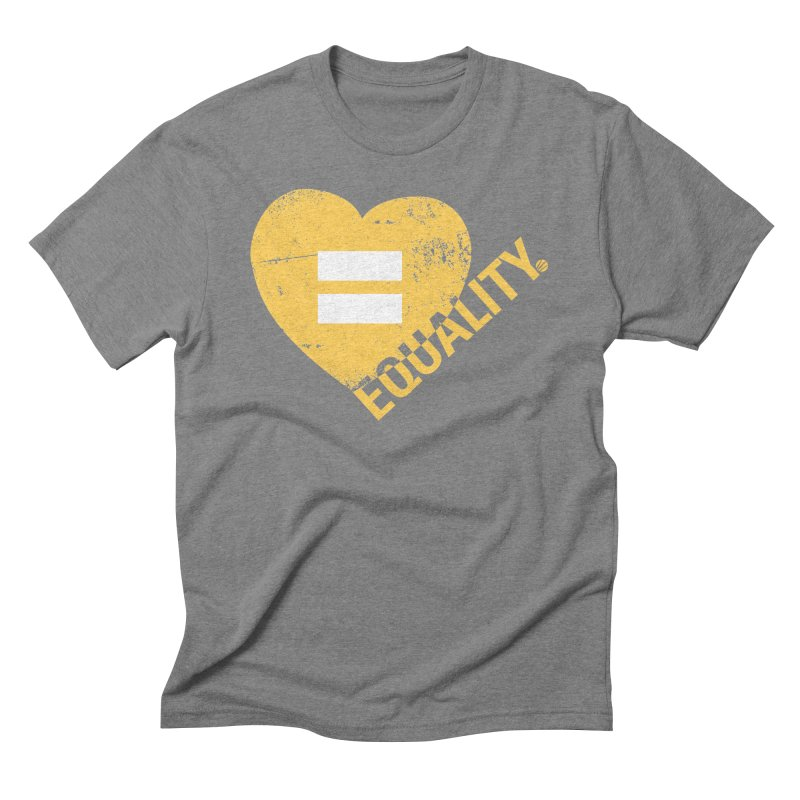 Equality Men's Triblend T-Shirt by Love Well's Artist Shop