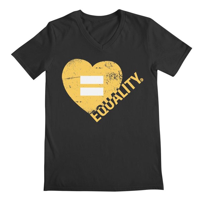 Equality Men's Regular V-Neck by Love Well's Artist Shop