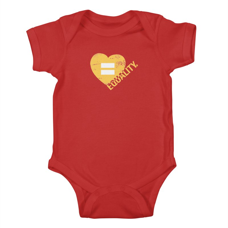 Equality Kids Baby Bodysuit by Love Well's Artist Shop