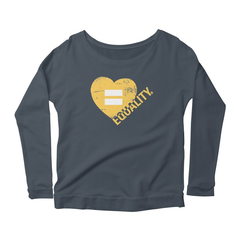 Equality Women's Scoop Neck Longsleeve T-Shirt by Love Well's Artist Shop