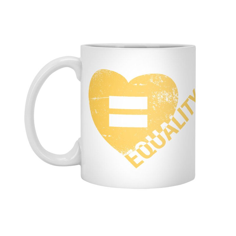 Equality Accessories Mug by Lovewell's Artist Shop