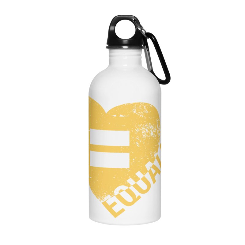 Equality Accessories Water Bottle by Love Well's Artist Shop