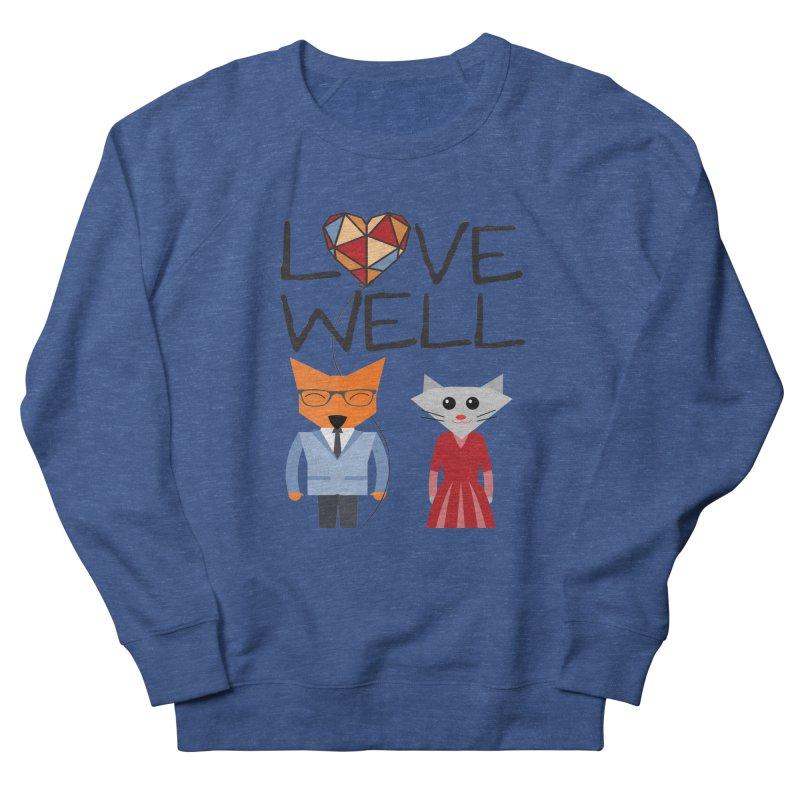 Foxy Lovewell Cat (by Tobi Waldron) Men's Sweatshirt by Love Well's Artist Shop