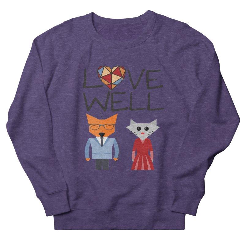 Foxy Lovewell Cat (by Tobi Waldron) Men's Sweatshirt by Lovewell's Artist Shop