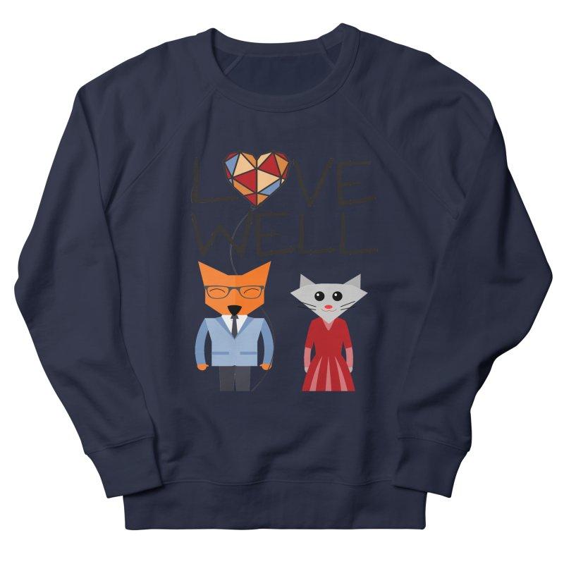 Foxy Lovewell Cat (by Tobi Waldron) Men's French Terry Sweatshirt by Lovewell's Artist Shop