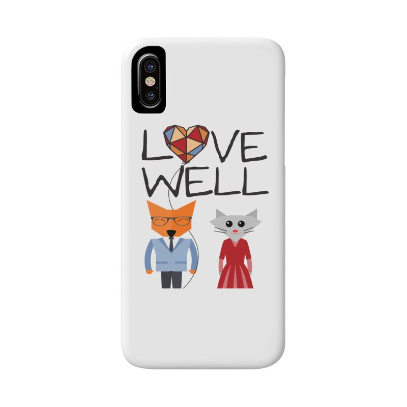 Foxy Lovewell Cat (by Tobi Waldron) Accessories Phone Case by Lovewell's Artist Shop