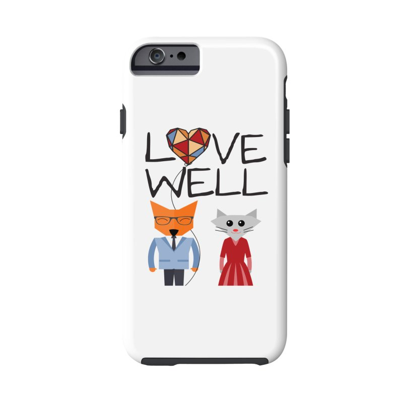 Foxy Lovewell Cat (by Tobi Waldron) Accessories Phone Case by Love Well's Artist Shop