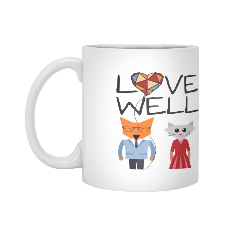Foxy Lovewell Cat (by Tobi Waldron) Accessories Mug by Love Well's Artist Shop