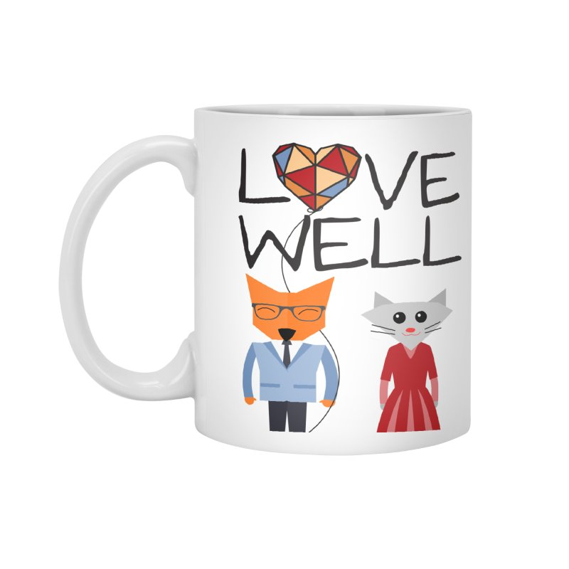 Foxy Lovewell Cat (by Tobi Waldron) Accessories Standard Mug by Love Well's Artist Shop