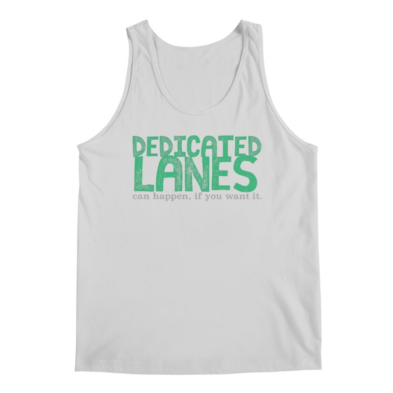 Dedicated Lanes (can happen, if you want it.) Men's Regular Tank by \\ LOVING RO<3OT .boop.boop.