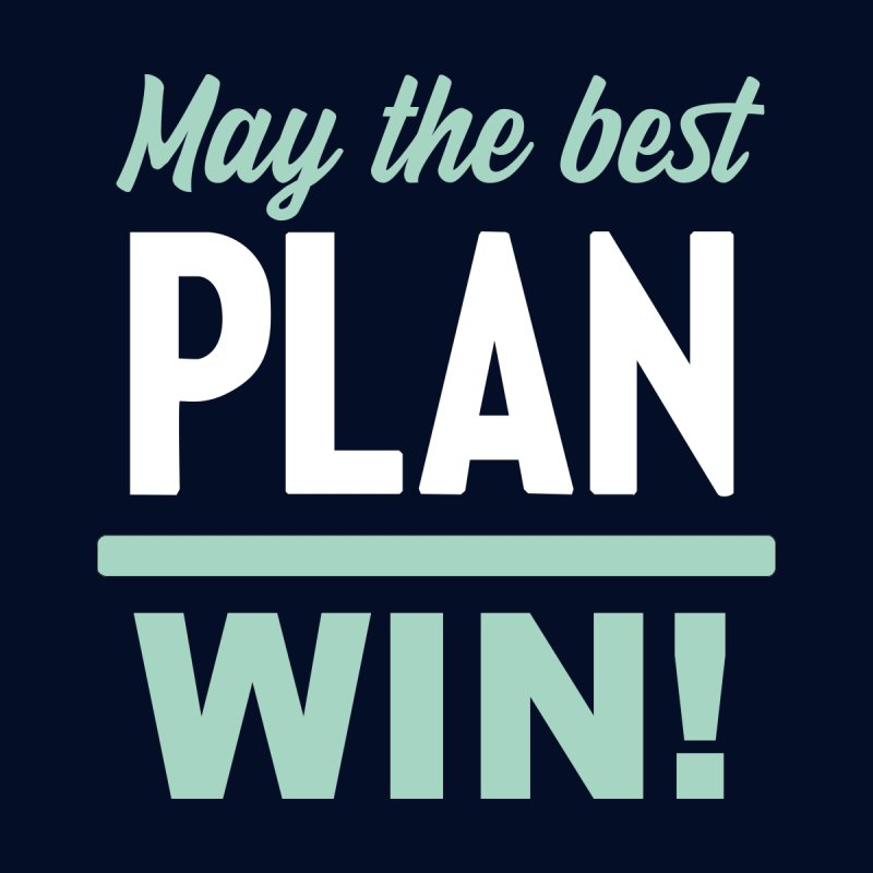 May the Best Plan Win! (Elizabeth Warren in 2020!) Men's T-Shirt by \\ LOVING RO<3OT .boop.boop.