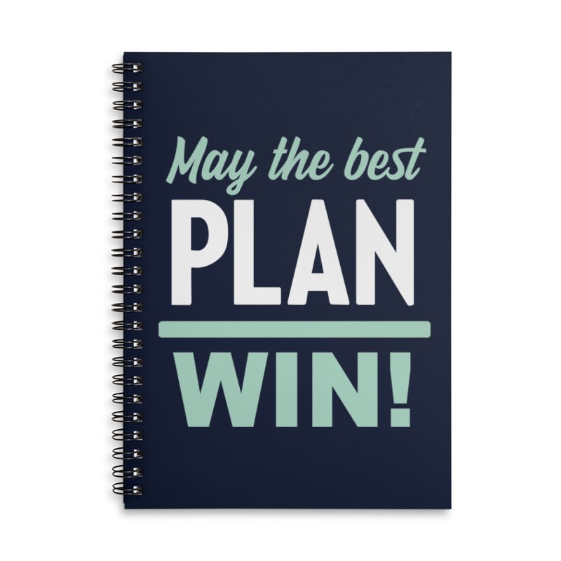 May the Best Plan Win! (Elizabeth Warren in 2020!) Accessories Lined Spiral Notebook by \\ LOVING RO<3OT .boop.boop.