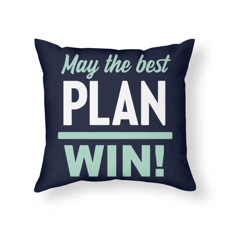 May the Best Plan Win! (Elizabeth Warren in 2020!) Home Throw Pillow by \\ LOVING RO<3OT .boop.boop.