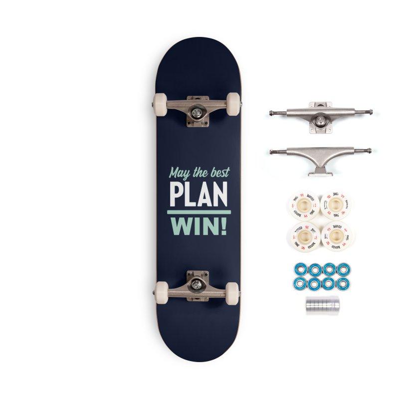 May the Best Plan Win! (Elizabeth Warren in 2020!) Accessories Complete - Premium Skateboard by \\ LOVING RO<3OT .boop.boop.