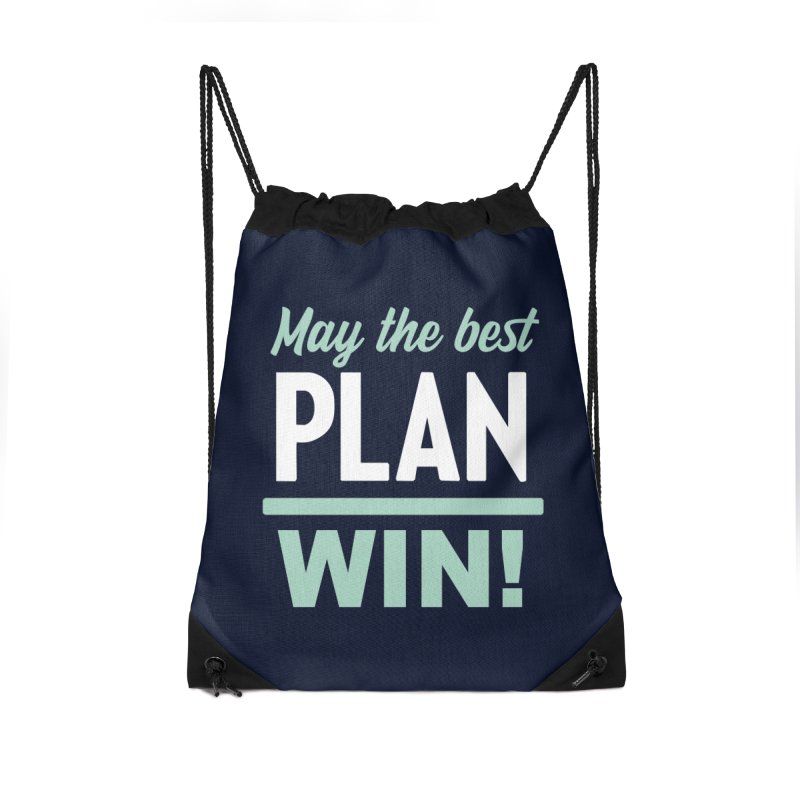May the Best Plan Win! (Elizabeth Warren in 2020!) Accessories Drawstring Bag Bag by \\ LOVING RO<3OT .boop.boop.