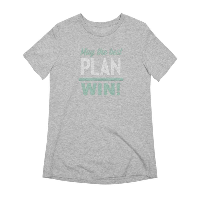 May the Best Plan Win! (Elizabeth Warren in 2020!) Women's Extra Soft T-Shirt by \\ LOVING RO<3OT .boop.boop.