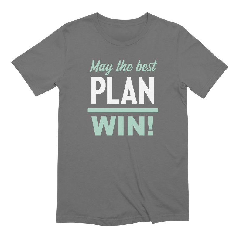 May the Best Plan Win! (Elizabeth Warren in 2020!) Men's Extra Soft T-Shirt by \\ LOVING RO<3OT .boop.boop.