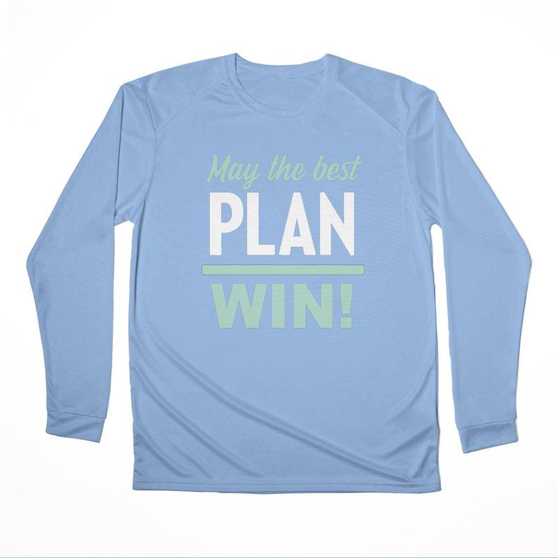 May the Best Plan Win! (Elizabeth Warren in 2020!) Men's Performance Longsleeve T-Shirt by \\ LOVING RO<3OT .boop.boop.