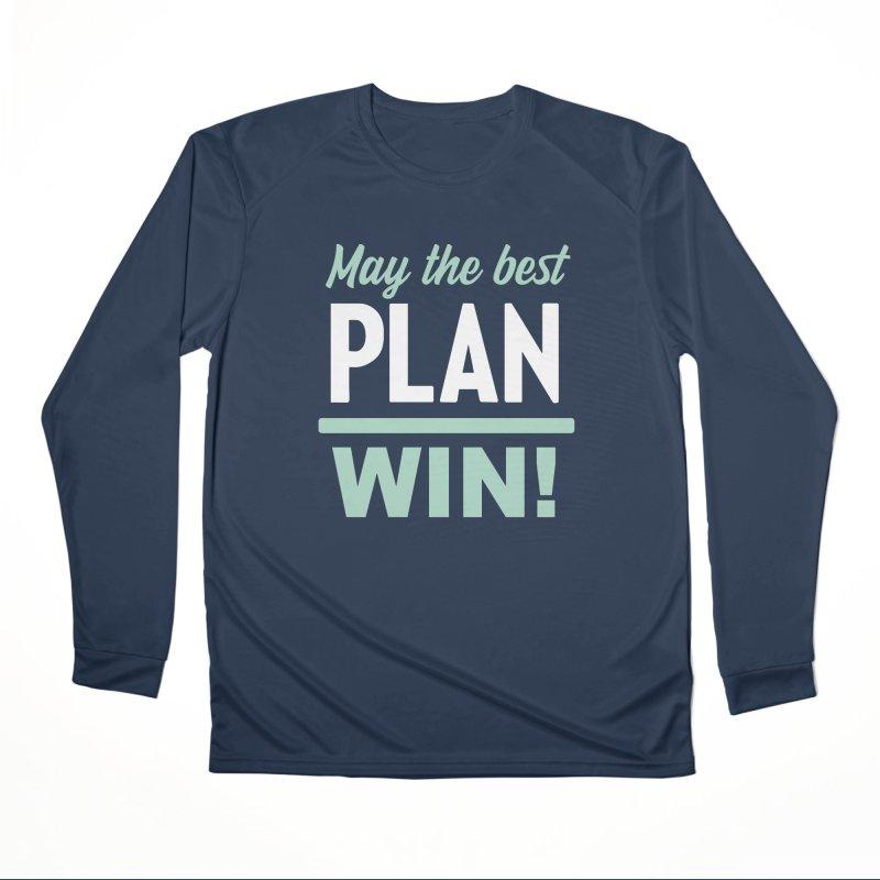 May the Best Plan Win! (Elizabeth Warren in 2020!) Women's Performance Unisex Longsleeve T-Shirt by \\ LOVING RO<3OT .boop.boop.