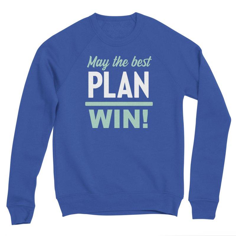 May the Best Plan Win! (Elizabeth Warren in 2020!) Men's Sponge Fleece Sweatshirt by \\ LOVING RO<3OT .boop.boop.