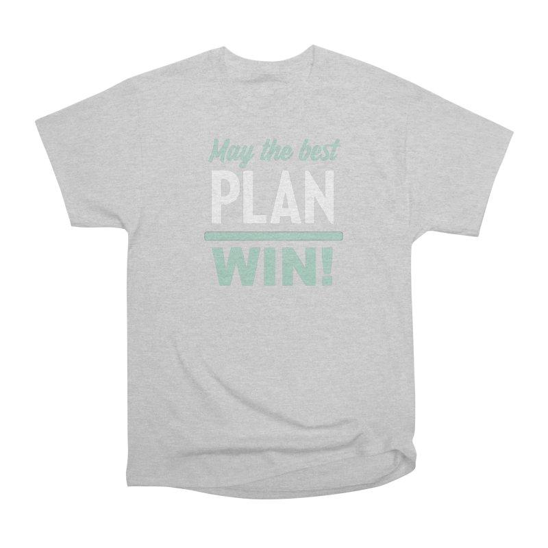 May the Best Plan Win! (Elizabeth Warren in 2020!) Men's Heavyweight T-Shirt by \\ LOVING RO<3OT .boop.boop.