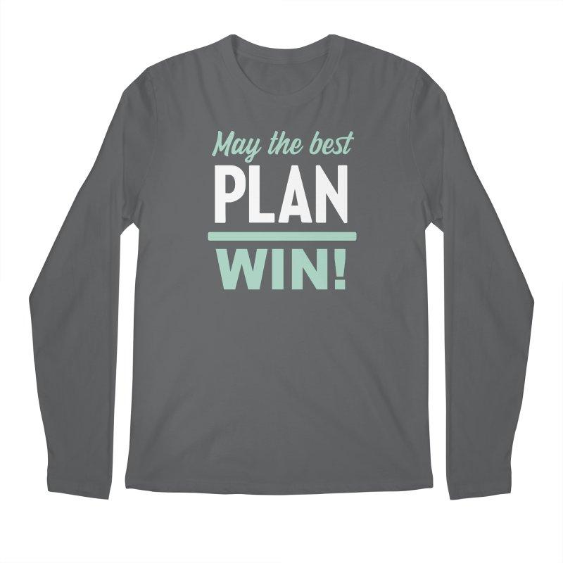 May the Best Plan Win! (Elizabeth Warren in 2020!) Men's Regular Longsleeve T-Shirt by \\ LOVING RO<3OT .boop.boop.
