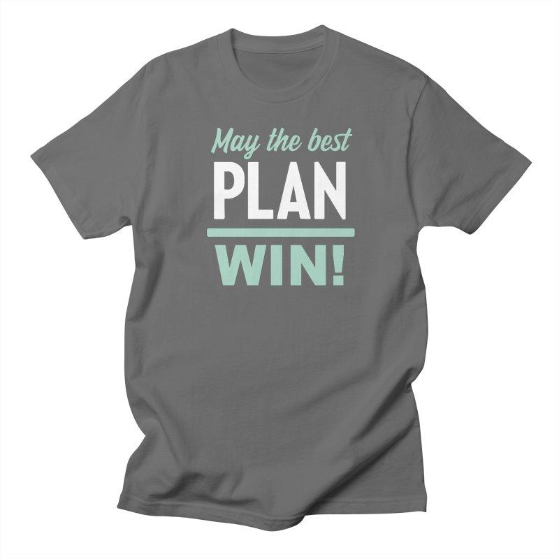 May the Best Plan Win! (Elizabeth Warren in 2020!) Men's T-Shirt by \\ LOVING RO<3OT .boop.boop.