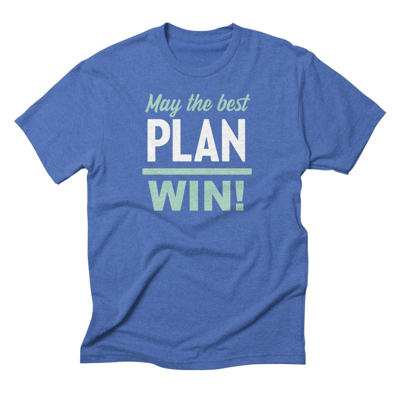 May the Best Plan Win! (Elizabeth Warren in 2020!) Men's Triblend T-Shirt by \\ LOVING RO<3OT .boop.boop.
