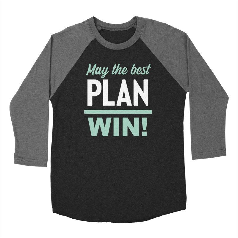 May the Best Plan Win! (Elizabeth Warren in 2020!) Men's Baseball Triblend Longsleeve T-Shirt by \\ LOVING RO<3OT .boop.boop.