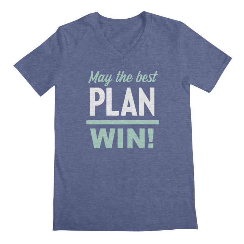 May the Best Plan Win! (Elizabeth Warren in 2020!) Men's Regular V-Neck by \\ LOVING RO<3OT .boop.boop.