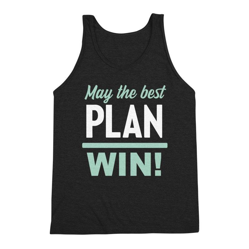 May the Best Plan Win! (Elizabeth Warren in 2020!) Men's Triblend Tank by \\ LOVING RO<3OT .boop.boop.