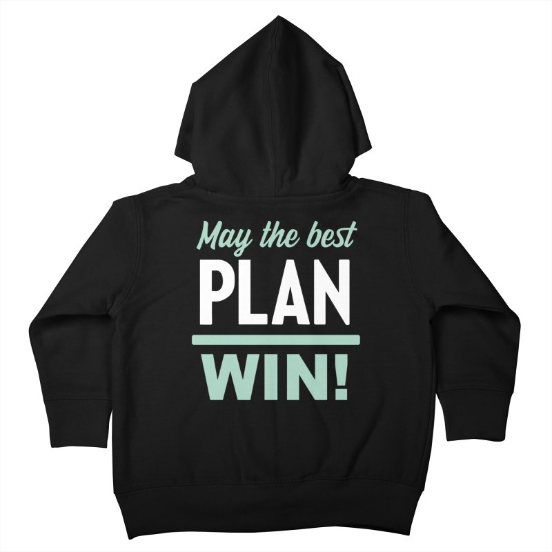 May the Best Plan Win! (Elizabeth Warren in 2020!) Kids Toddler Zip-Up Hoody by \\ LOVING RO<3OT .boop.boop.