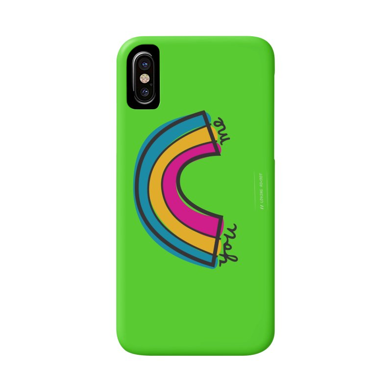 You Me Rainbow Accessories Phone Case by \\ LOVING RO<3OT .boop.boop.