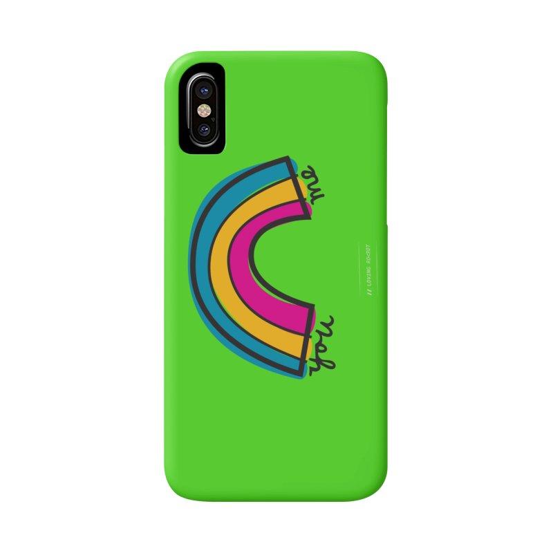 You Me Rainbow Accessories Phone Case by \\ LOVING RO<3OT .boop.boop.